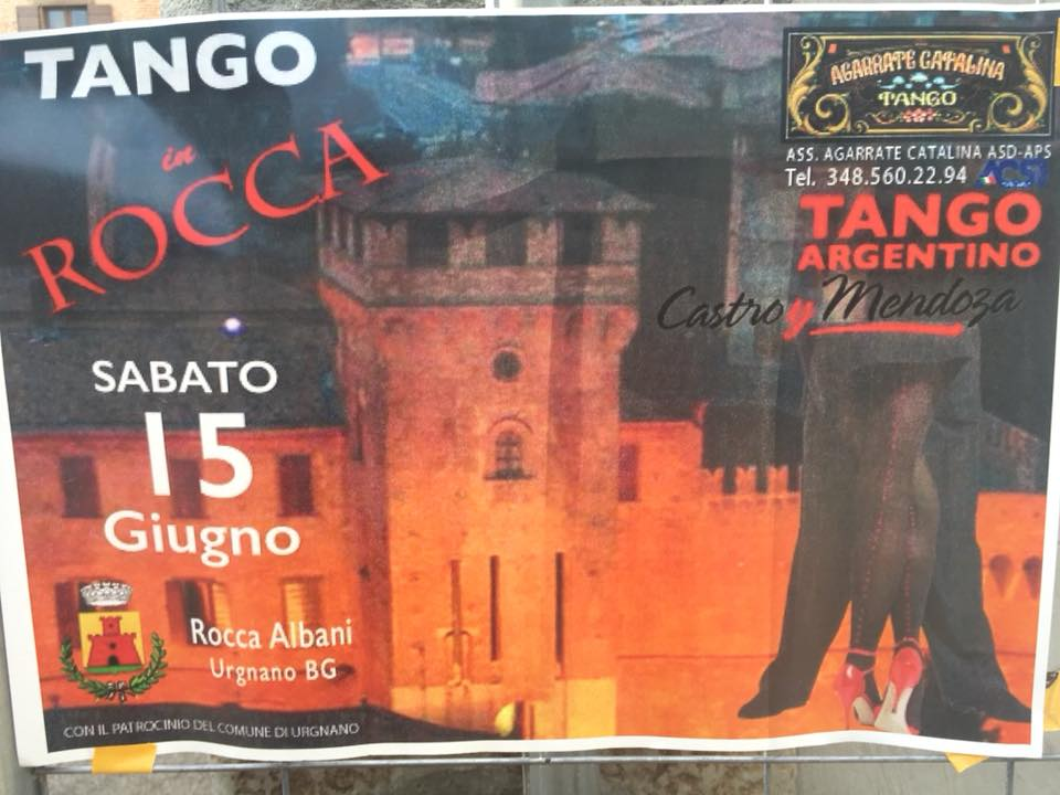 Tango in Rocca, la locandina
